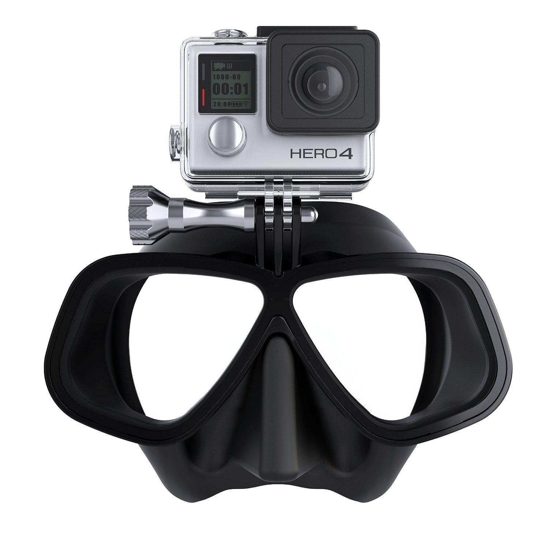 Универсален монтаж за видеокамери GO PRO върху водолазна маска - Scubapro